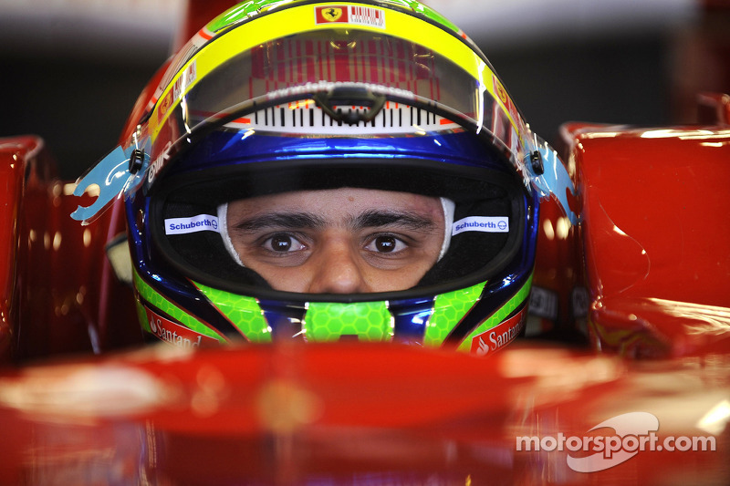 Felipe Massa teste la Ferrari F2008