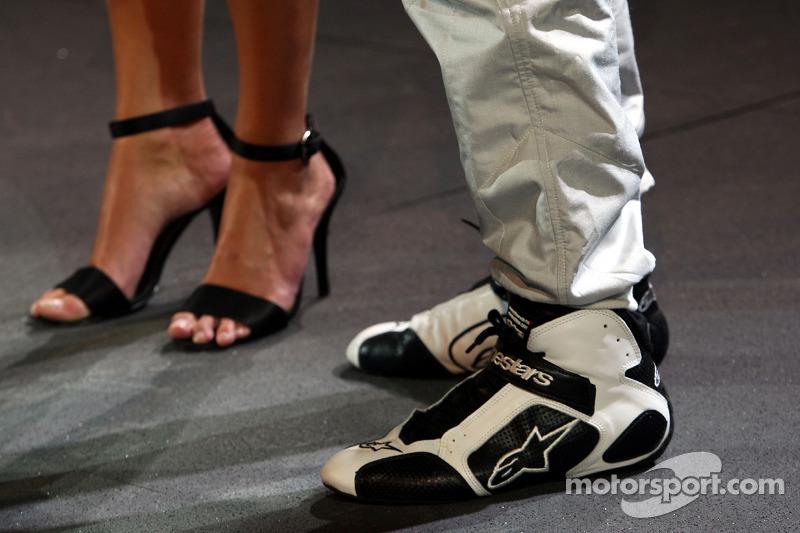 Die Schuhe von Michael Schumacher