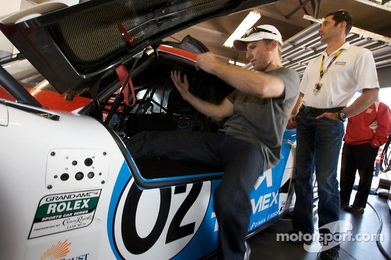 Jamie McMurray essaye sa voiture