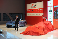 Stefano Domenicali on stage