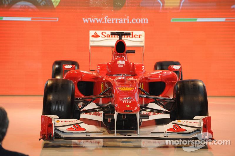 La nouvelle Ferrari F10