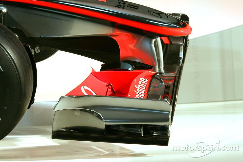 De nieuwe McLaren Mercedes MP4-25