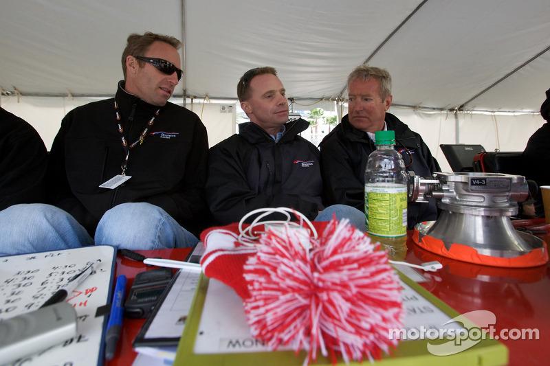 Darren Law, David Donohue et Hurley Haywood