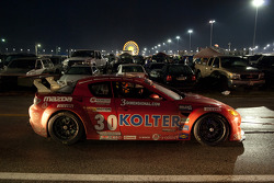 #30 Racers Edge Motorsports Mazda RX-8 Towed Through Infield
