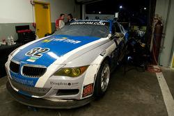 Réparation de mi-épreuve pour #32 Corsa Team PR1 BMW M6