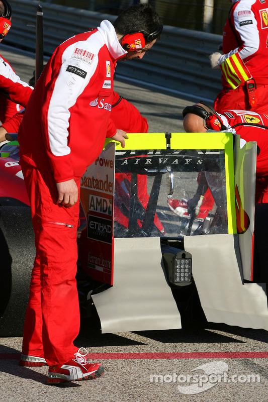 Scuderia Ferrari achtervleugel