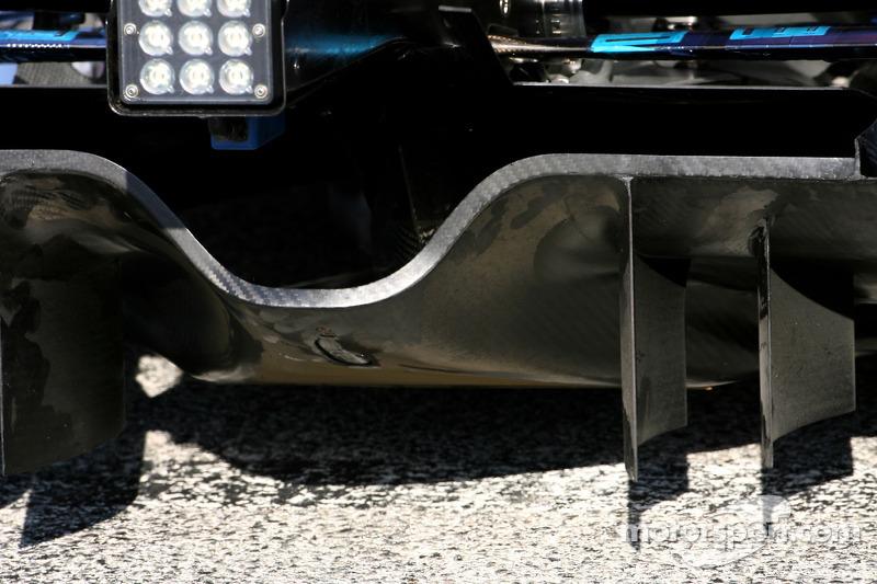 Scuderia Toro Rosso diffuser