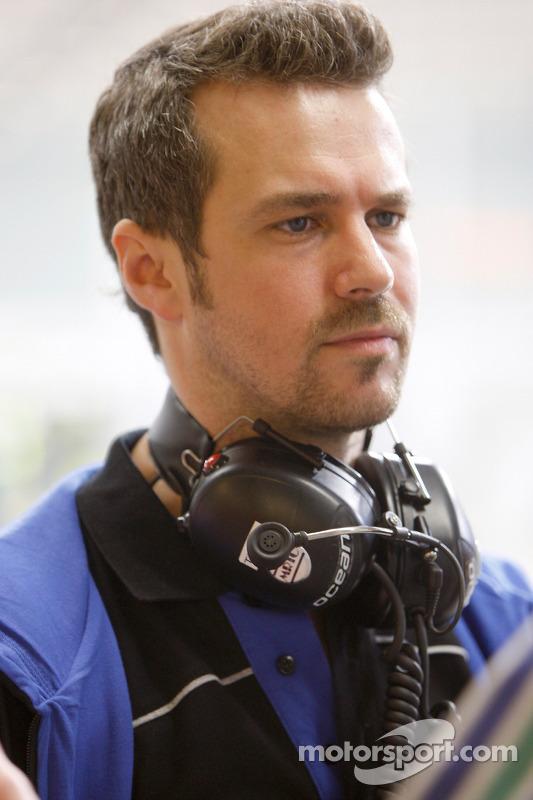 Tiago Monteiro, directeur général d'Ocean Racing Technology