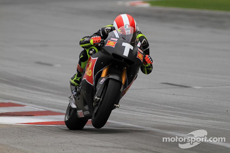 2010 Test de Sepang febrero con la Honda de MotoGP
