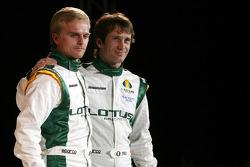 Heikki Kovalainen and Jarno Trulli