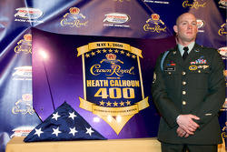 Crown Royal press conference: Heath Calhoun present the Heath Calhoun 400 at Richmond