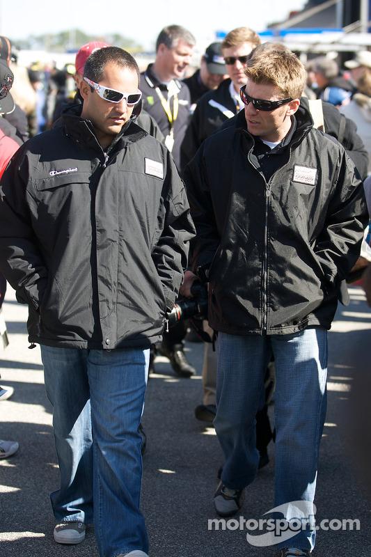 Juan Pablo Montoya, Earnhardt Ganassi Racing Chevrolet en Jamie McMurray, Earnhardt Ganassi Racing Chevrolet