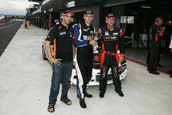 Theo Koundouris, Steve Owen en James Koundouris, pole 2010 Bathurst 12 Hours