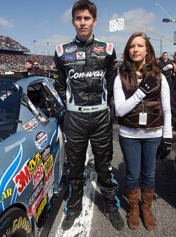 Colin Braun y su novia, Melissa