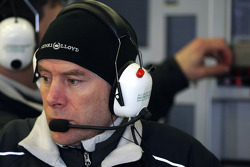 Jock Clear, Mercedes GP Petronas, Senior Race Engineer