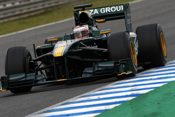 Jarno Trulli, Lotus F1 Team- Formula 1 Testing, Jerez, Spain