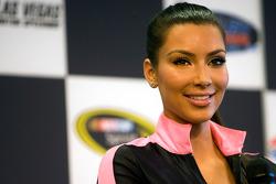 Kim Kardashian makes a press interview