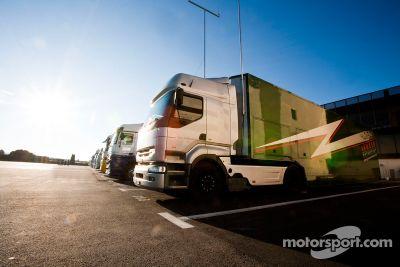Circuit Paul Ricard maart test