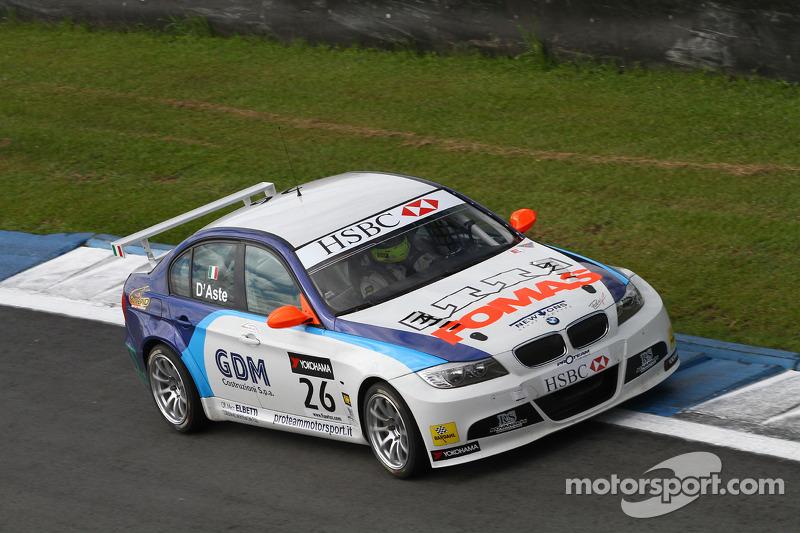 Sergio Hernandez, Stefano D'Aste, BMW 320si