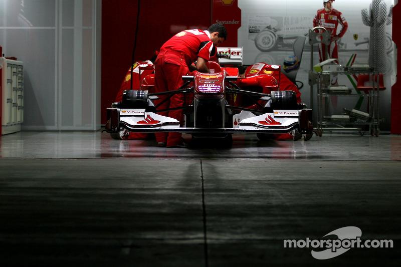Бокси Ferrari: підготовка до гонки