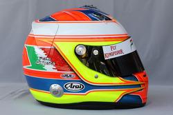 Helmet of Paul di Resta, Test Driver, Force India F1 Team