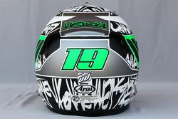 Helmet of Heikki Kovalainen, Lotus F1 Team