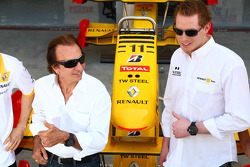 Emerson Fittipaldi with Jordi of TW Steel Watches