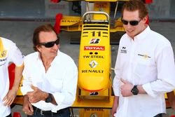 Emerson Fittipaldi con Jordi de TW Steel relojes