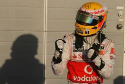 Third place Lewis Hamilton, McLaren Mercedes