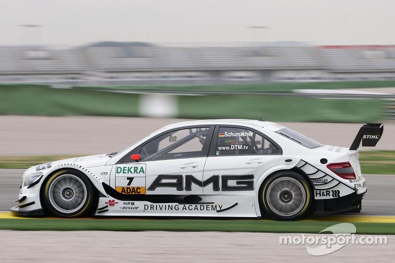 2010: Ralf Schumacher Mercedes-AMG Clase C
