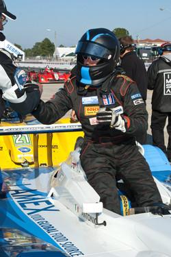 #4 Eurosport Racing Elan DP02: Antonio Downs