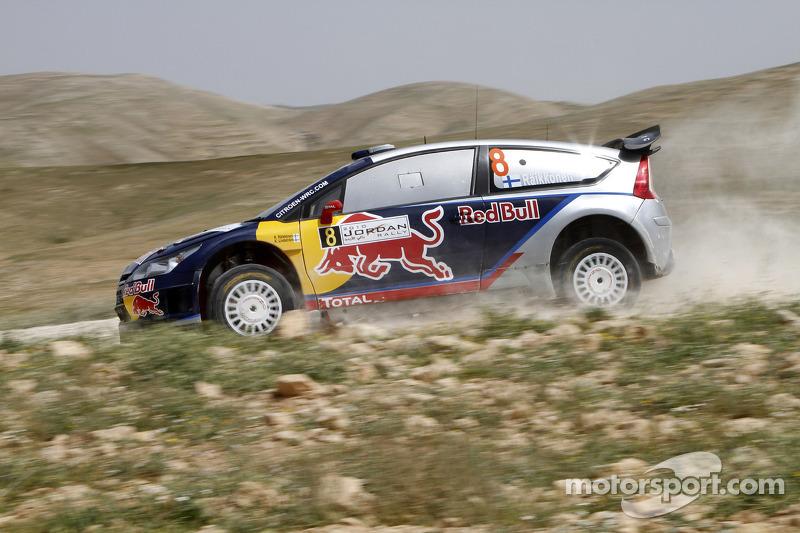 Ралі Йорданія-2010 - 8 місце