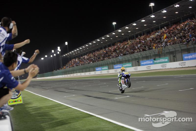 Valentino Rossi, Fiat Yamaha Team remporte la victoire