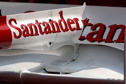 Fernando Alonso, Scuderia Ferrari F-Duct system detail
