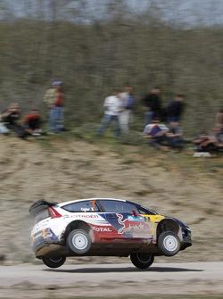 Auto Citroën C4 WRC de Sebastien Ogier y Julien Ingrassia, Citroën Junior Team