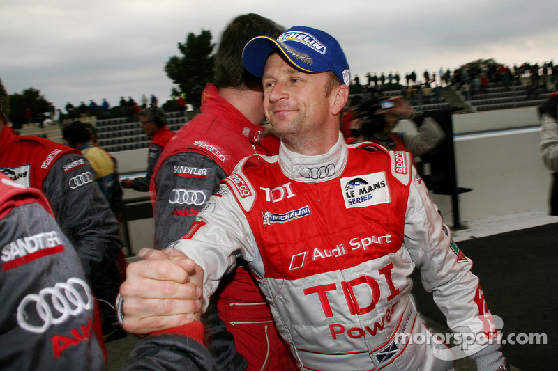Race winnaar Allan McNish
