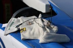Earplugs of Edoardo Mortara, Signature, Dallara F308 Volkswagen