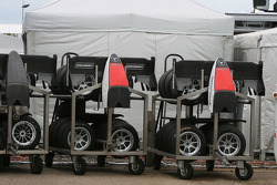 Spares for the race