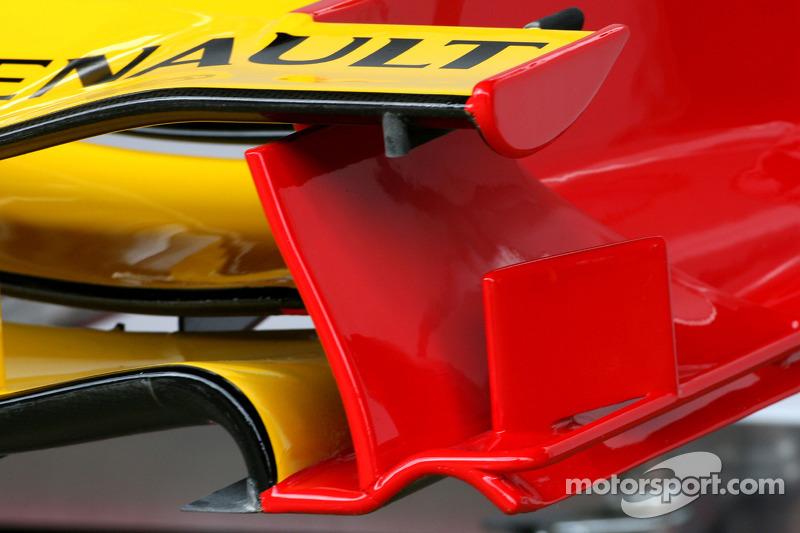 Renault F1 Team voorvleugel