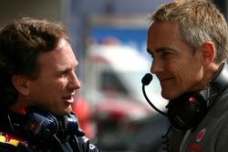 Christian Horner, Red Bull Racing, Sporting Director en Martin Whitmarsh, McLaren, Chief Executive Officer