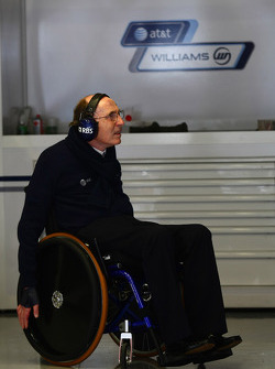 Sir Frank Williams, WilliamsF1 Team, Managing Director, Team Principal