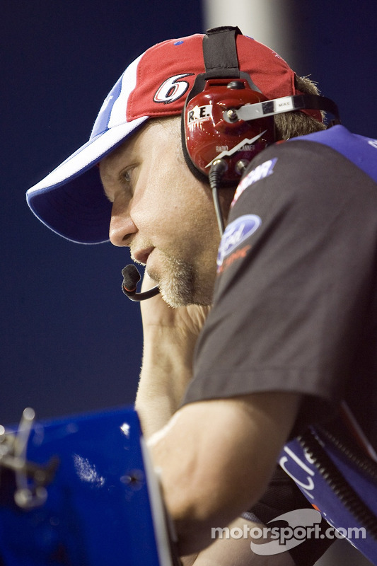Mike Kelley, chef d'équipe pour la #6 Roush Fenway Racing Ford