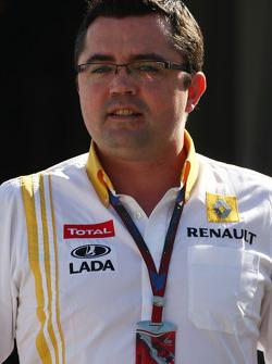Eric Boullier, Team Principal, Renault F1 Team