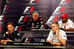 Christian Horner, Red Bull Racing, Sporting Director, John Booth, Virgin Racing Sporting Director, Martin Whitmarsh, McLaren, Chief Executive Officer, Tony Fernandes, Lotus F1 Team, Team Principal