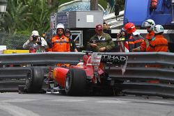 Unfall von Fernando Alonso, Scuderia Ferrari