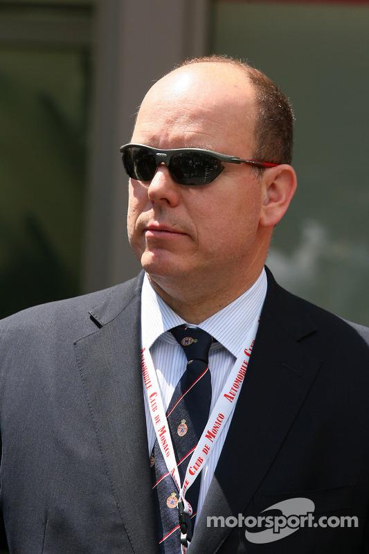 Prins Albert of Monaco