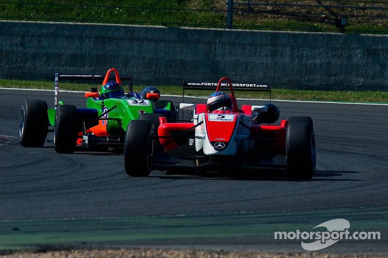 Daniel Mckenzie rijdt voor Lucas Foresti