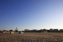 Malvarrosa-strand in Valencia