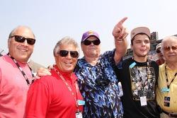 Jack Nicholson and Mario Andretti