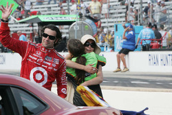 Danica Patrick, Andretti Autosport congratulates Ashley Judd on Dario Franchitti's win of the 94th Indianapolis 500.